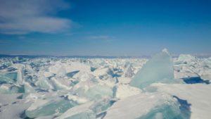 Reisen-Outdoor-Baikal-Luftbild-Eis